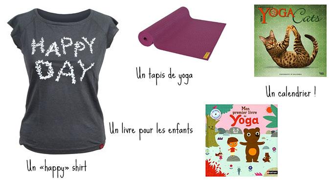 Un cadeau de yoga moins de 20 euros