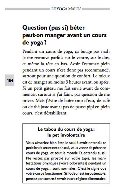 Le yoga malin - péter au yoga