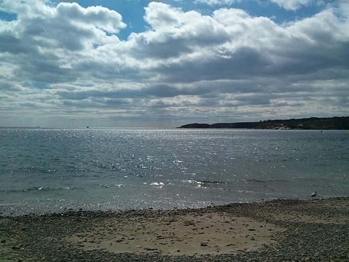 La mer à Gloucester