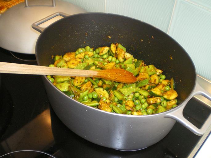 Lucile et la cuisine ayurvédique 1