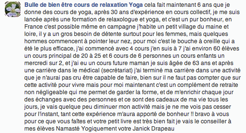 Commentaire Janick facebook