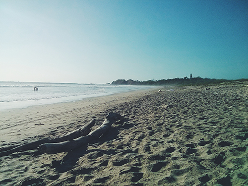 Costa Rica Guiones Beach
