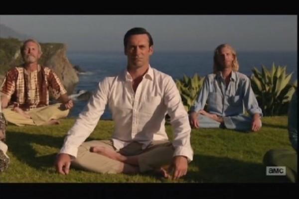 don draper yoga