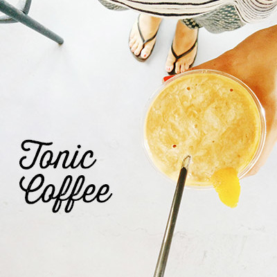 tonic coffee